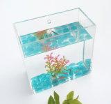 Custom Made Acrylic Table Standing Mini Fish Tank