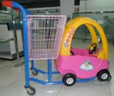 Children Toy Trolley Cart for Supermarket Shopping
