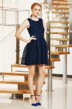 New Fashion Special Stripe Dress with Closet Box Pleat