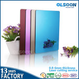 Olsoon 0.8-6mm Thickness Colored PMMA Plastic Sheet Acrylic Mirror Sheet