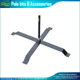 Steel Cross Base Beach Flag Pole with Water Bag (J-NF23M03004)