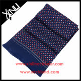 Men Fashion 100% Silk Printed Scarf