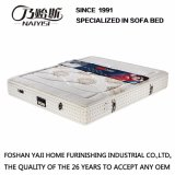 High Quality Knitted Fabric Cover Pocket Spring Mattress with 3D Fiber Furniture /Fb820