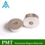 N35m Ring Magnetic Material with Neodymium and Praseodymium