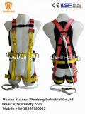 New Design Full Body Safety Protection Harness with Lanyard Conform En361