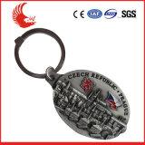 Metal Fashion Shopping Cart Coin Keychain