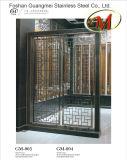Stainless Steel Screen Guardrail (wavy grain)
