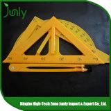 New Products Custom Scale Ruler Triangle Plastic Ruler