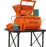 High Efficient Js Js500 Double Horizontal Axle Forced Concrete Mixer, Js500 Twin Shaft Compulsory Concrete Mixer