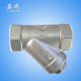 304 Stainless Steel Thread Y-Type Strainer Dn15 1/2′′