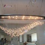 European Design K9 Crystal Chandelier for Hotel Project