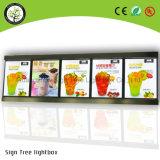 Food Menu for Restaurant Lighting Thin Light Box Slim LED Poster Light Box Sign