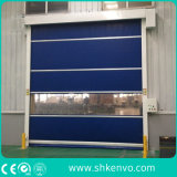 PVC Fabric High Speed Rolling Traffic Doors for Cargo Handling