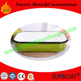 Enamel Rectangular Baking Tray with/Without Handle