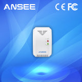 Ansee Wireless Gas Detector with AC Plug Power for Alarm System