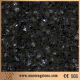 Popular Colorful Shining Grey Quartz Stone Polishing Surface Color