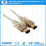 1394 6p to 1394 6p Data Cable for Computer