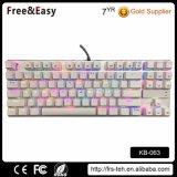 Professional 87keys Backlit Wired Gaming Mechanical Keyboard