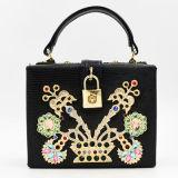 2017 Popular Shoulder Bag Box Bags Handbags with Beads Flower Eb698