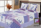 Printed 100% Cotton or Polyester Children Bed Cover (bedding cover)
