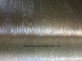 Metallic Surface PVC Synthetic Leather for Sofa/Furniture/Bag/Decoration