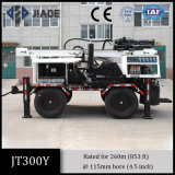 Jt300y High Performance Four-Wheel Portable Water Well Drilling Rig