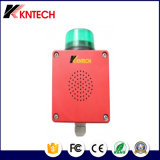 Weatherproof Telephone Amplifier Fire Alarm Sounder Loudspeaker with Light