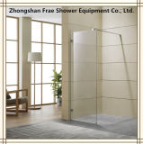 Furniture Shower Enclosure/Shower Screen with Stainless Steel Tie Bar