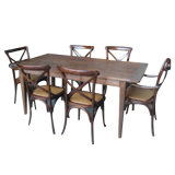 Chinese Antique Furniture Table with Chair