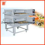 2-Deck Computer Board Convection Conveyor Gas Pizza Oven for Sale
