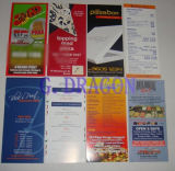 High Quality Cheep Printing Paper Menu (GD-pm001)