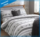 3 Piece Holiday Patchwork Cotton Printed Comforter Set