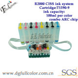 New T159 CISS Ink System for Epson R2000 Printer CISS with Arc Combo Chip R2000 Cis Ink Cartridge