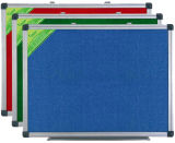 Single Side Felt Board/Fabric Board/Notice Board with Aluminum Frame