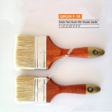 F-19 Wooden Handle Bristle Paint Brush