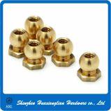 Brass/Steel Ball Head Nut with Collar Hex Bottom