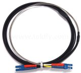 LC/Sc/St/FC 2 Cores Breakout Armored Outdoor/Indoor Patch Cord