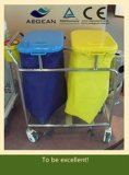 AG-Ss050 Stainless Steel Hospital Waste Trolley Bins