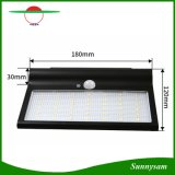 Solar Garden Light Motion Sensor Decorative Lamp Aluminum 42 LED Solar Light Outdoor Waterproof Solar Lamp