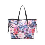 Spring Style Floral Print Shoulder Bag for Ladies (MBNO043006)