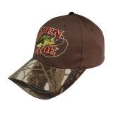 Hot Sale Custom Baseball Cap with Camo Peak Gjbb213