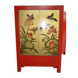 Antique Painted Wooden Wedding Cabinet Lwb713