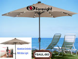 Aluminium Umbrella With Solar Light (FSAUL-003)