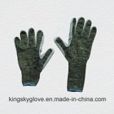 Metal Mesh Cut Resistance String Knitted Work Glove-2309