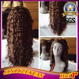 Full Machine Weft Wig Curly Human Hair Wig