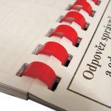 Spiral Binding Hardcover Book Printing (OEM-HE416)