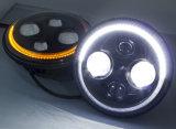 "7"" High Low Beam Custom Harley LED Headlights"