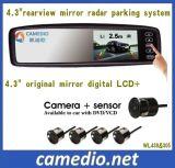 4.3inch Rearview Mirror Car Parking Sensor System