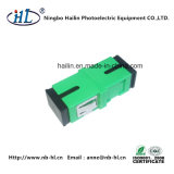 Sc/Sm APC Simplex Fiber Optic Adapter Pei Matal