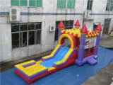 Cheap Inflatable Castle and Slide Combo, Water Slide for Kids